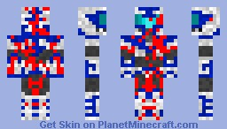 Bleeding soldier Minecraft Skin