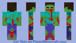 dead steve Minecraft Skin