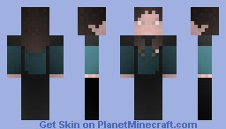 Deanna Troi, Duty Uniform, / ST TNG Minecraft Skin
