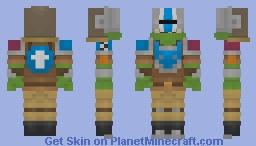 Deathskulls Ork Minecraft Skin