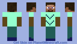 Dude Double V Minecraft Skin