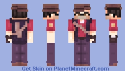 sniper ~ team fortress 2 Minecraft Skin