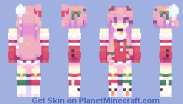 Who threw a 𝒔𝒏𝒐𝒘𝒃𝒂𝒍𝒍 at me? owo Minecraft Skin