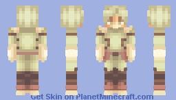 D e k u Minecraft Skin