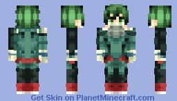 ★𝒟𝑒𝓀𝓊★ [Midoriya Izuku | Boku no Hero Academia] Minecraft Skin