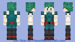 Izuku Midoriya (My Hero Academia) Minecraft Skin