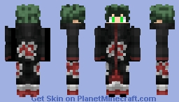 Akatsuki Deku Minecraft Skin