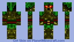 Deku Shrub Minecraft Skin