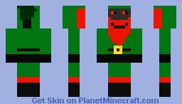 Santas evil twin Minecraft Skin