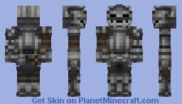 Fluted armor ( Demon's Souls) Minecraft Skin