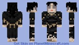 The Maiden in black ( Demon's Souls ) Minecraft Skin