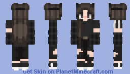 Edgy Girl Minecraft Skin