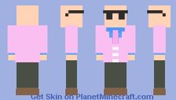 Bad Business - Pink Suit Minecraft Skin