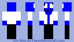 DERP in a lab coat Minecraft Skin