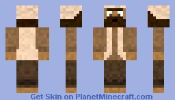 Desert Man Minecraft Skin