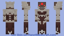 Destiny 2 In Ananh, Brood Queen Minecraft Skin