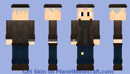Detective Russell, The Grand Detective [Entry for Bowmanimmortal's Reshade/Reimagine contest] Minecraft Skin