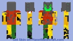 Devastator Minecraft Skin