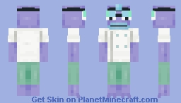 Dr. Gill Gilliam, more known as Incidental 116. Minecraft Skin