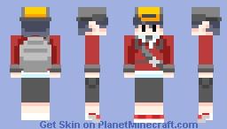 Pokémon Trainer Gold Minecraft Skin