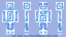Diamond man Minecraft Skin