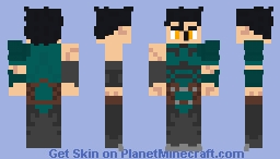 Fate/Zero - Diarmuid Ua Duibhne (Lancer) Minecraft Skin
