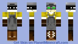 Digger Minecraft Skin