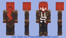Diluc - Genshin Impact Minecraft Skin