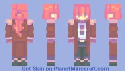 diluc ragnvindr | genshin impact ⚔️ Minecraft Skin