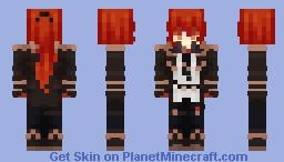 diluc ragnvindr Minecraft Skin