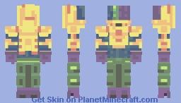 Disco Pirate Minecraft Skin