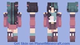 [ `` Distant summer breeze `` ] (SF) Minecraft Skin