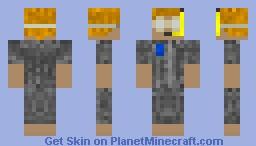 Under the Sea Contest Skin-Diver Minecraft Skin