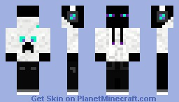 DJ Enderman Minecraft Skin