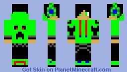 Green Dj Minecraft Skin