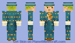 Kira Yoshikage (Dead Man's Questions) Minecraft Skin