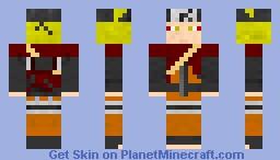 naruto sage mode Minecraft Skin