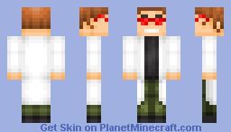 Doctor Doofenshmirtz Minecraft Skin