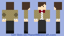 Doctor Who (11th Doctor - Matt Smith) Minecraft Skin