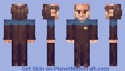The Doctor EMH Star Trek Voyager Minecraft Skin