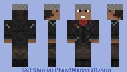 Dave Lister (Red Dwarf) Minecraft Skin