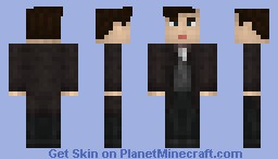 11th Doctor, Season 7.5 Minecraft Skin