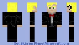 fancy man Minecraft Skin