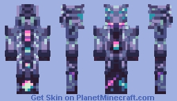 The Devourer of Gods | Terraria Calamity Mod Minecraft Skin