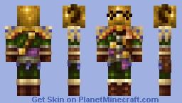 Domhnall of Zena / Adventurer's Set (Dark Souls) Minecraft Skin