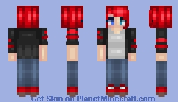 ❆𝓝𝓲𝓷𝓳𝓪𝓖𝓲𝓻𝓵2024❆ Don't Want to Live a Lie Minecraft Skin