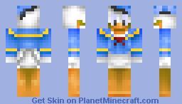 Donald duck Minecraft