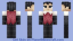 Wilson [Don't Starve] Minecraft Skin