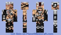 Possessed soldier ( DOOM 2016 ) Minecraft Skin
