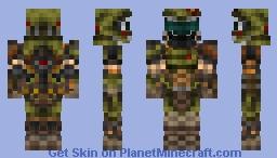 Doom Slayer ( DOOM ETERNAL ) Minecraft Skin